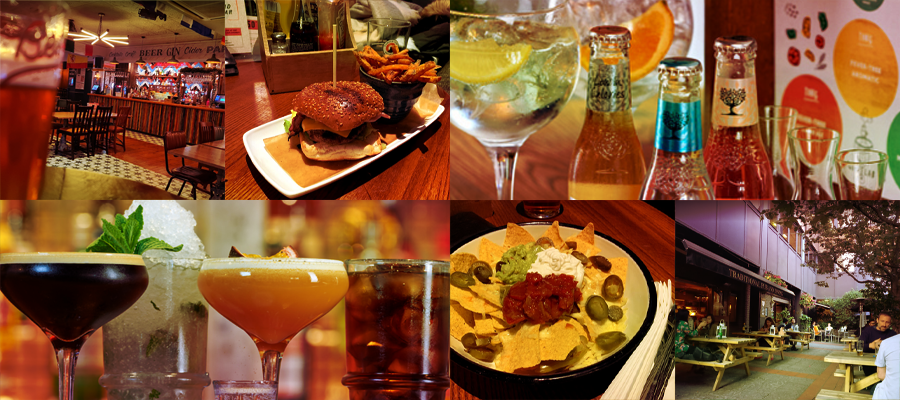 Food and drinks at Pasion - Duke of Somerset