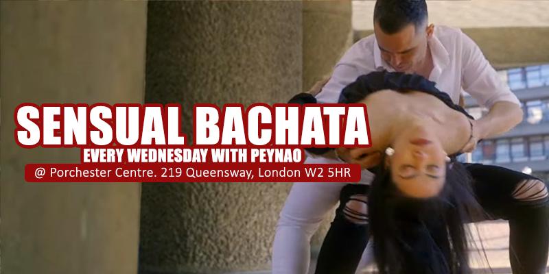 Sensual Bachata Every Wednesday with Peynao and Tina
